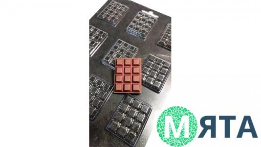 Молд для шоколада и мастики Шоколад микро №39