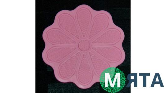 Мини коврик силиконовый для айсинга и мастики Ромашка