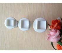Плунжеры для мастики Квадраты. 3 штуки