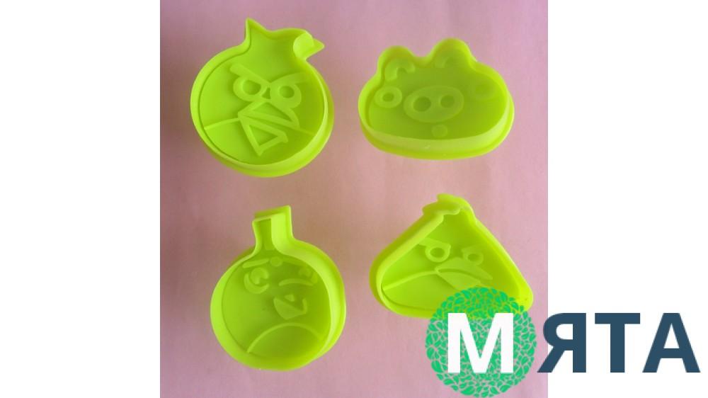 Плунжеры для мастики Angry Birds