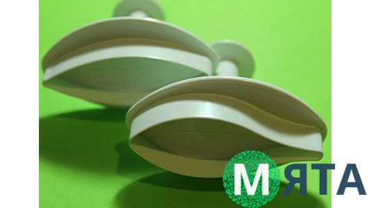 Плунжеры для мастики Лилия Маленькая. 2 штуки