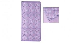 Поликарбонатная форма для конфет Сфера №4