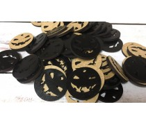 Бирка Хэллоуин, черное двп