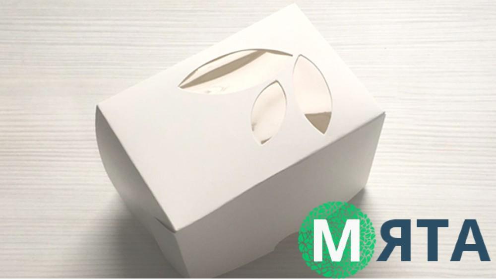 Коробка 12х8,5х9 см (1 капкейк)