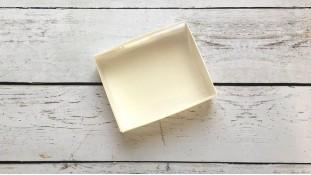 Коробка 12х9,5х3,5 см, Белая