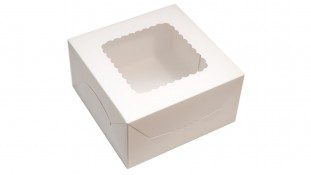 Коробка 17х17х9, белая