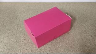 Коробка 18х12х8 см (2 капкейка) Розовая