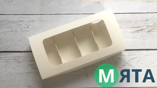 Коробка 22х11х4 см, для мини эклеров