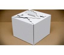 Коробка для торта Бабочка 25х25х20 см