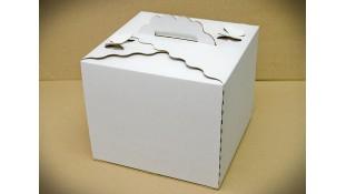 Коробка для торта Бабочка 30х30х25 см