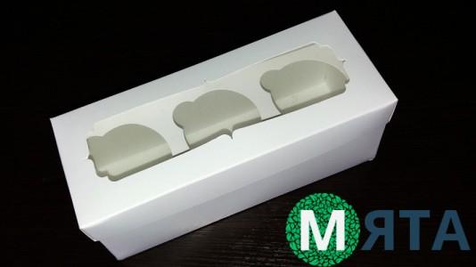 Коробка для 3 капкейков