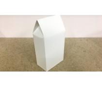 Коробка для печенья 14х10х6см, белая