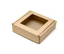 Коробка для пряников 10 см, Крафт