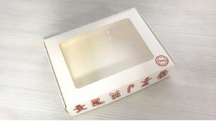 Коробка для пряников 15х20 см, Имбирные пряники
