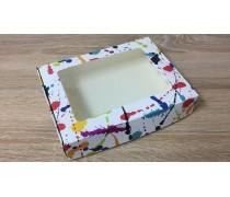 Коробка для пряников 15х20 см, Клякса