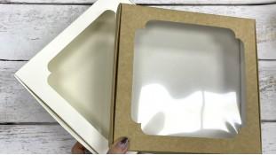 Коробка для пряников, 19,5х20х3,3 см