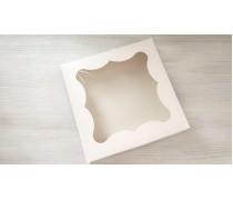 Коробка для пряников, 20х20 см, белая