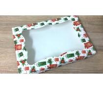 Коробка для пряников Новогодние подарки, 20х30х3 см