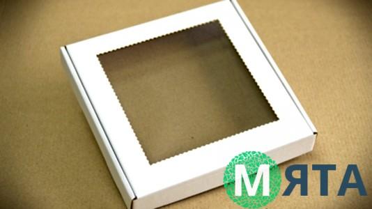 Коробка для пряников с пленочкой, 20 см