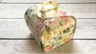 Коробка Лепесток 11х11х11 см, Цветы