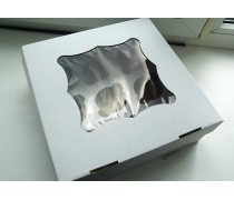 Коробка на 9 капкейков с окошком