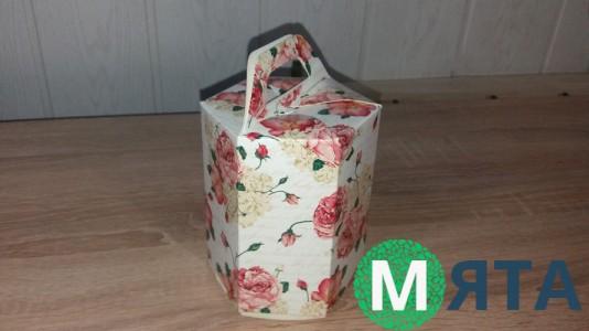 Коробка Розы 10х12х13 см