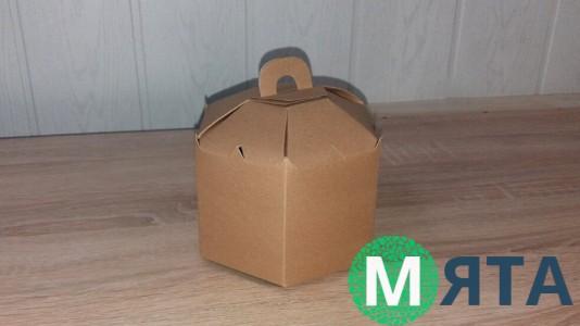 Коробка Шестигранник 13х15х12 см