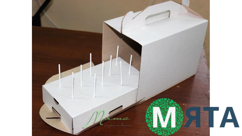 Коробка для кейк-попсов