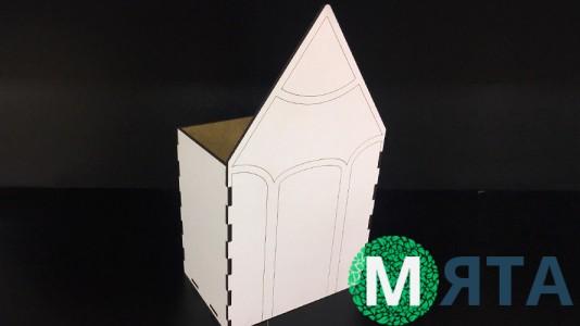 Деревянная коробка Карандаш