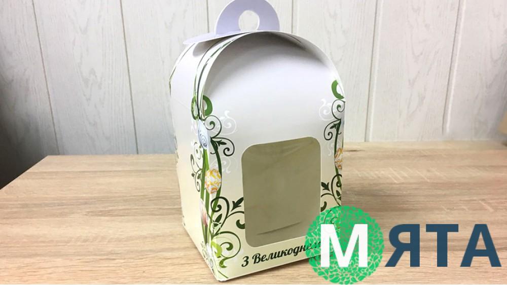 Пасхальная коробка 12х12х15 см