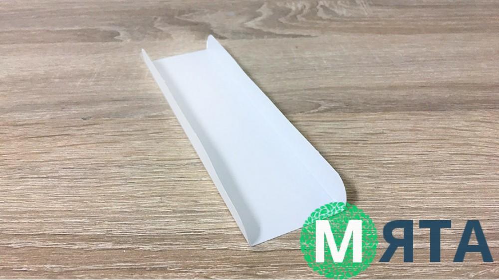 Подложка под эклеры 16х4 см, белая