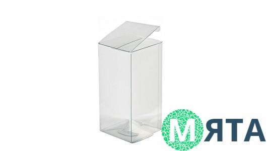 Прозрачная коробка 10х10х20 см