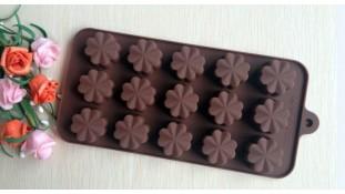 Силиконовая форма для льда и конфет Цветочки