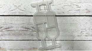 Силиконовый молд для леденцов Бокалы 3D
