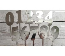 Топпер-цифра №5, картон