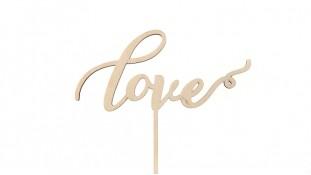 Топпер Love, дерево