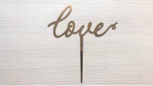 Топпер Love №3, картон