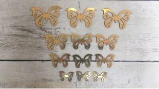 Топперы Бабочки, картон